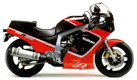 Suzuki GSX-R1100 1987